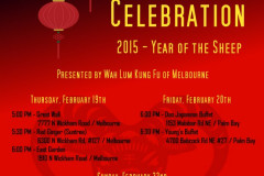 Chinese New Year Flyers